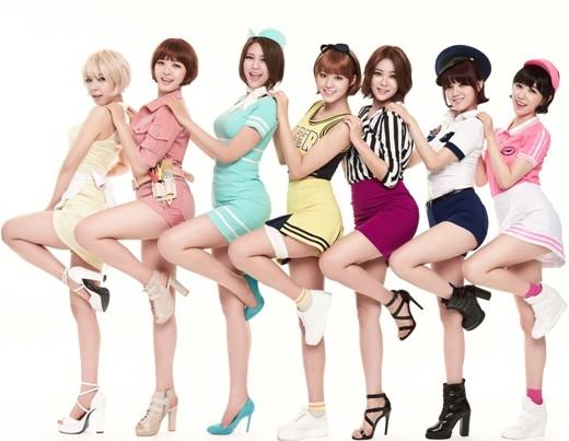 """Những nữ thần Kpop khiến phái yếu cũng không thể """"cưỡng lại"""""""