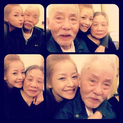 Hình ảnh ông và bà của Chi Pu - Tin sao Viet - Tin tuc sao Viet - Scandal sao Viet - Tin tuc cua Sao - Tin cua Sao