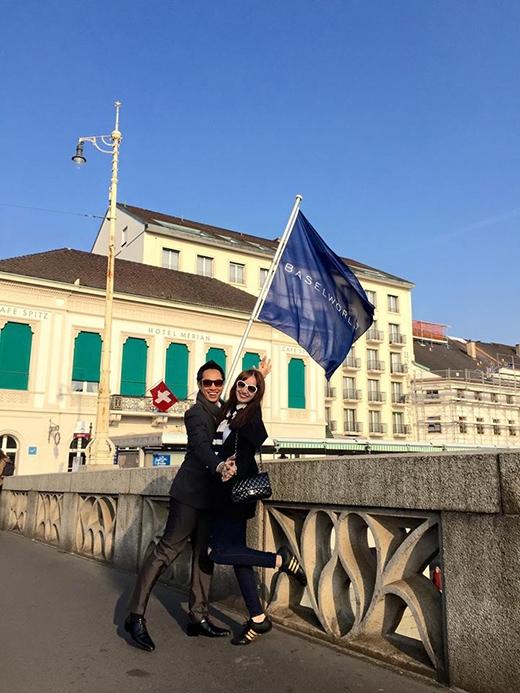 Vợ chồng Trúc Diễm nhắng nhít đi du lịch châu Âu - Tin sao Viet - Tin tuc sao Viet - Scandal sao Viet - Tin tuc cua Sao - Tin cua Sao