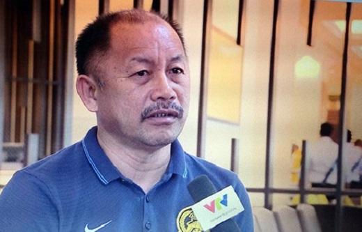 HLV trưởng Olympic Malaysia, ông Razip Ismail. Ảnh: Đông Huyền.