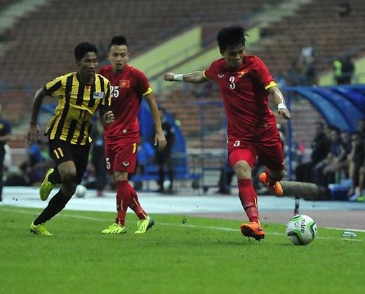 U23 Việt Nam đang gặp nhiều khó khăn trước Malaysia - Ảnh: An An