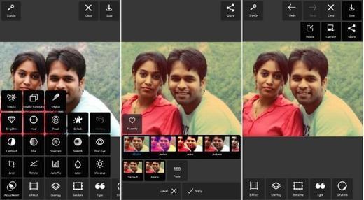 Những ứng dụng chụp ảnh tuyệt vời của Android