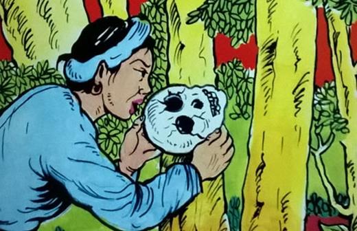 Choáng với truyện cổ tích biến tấu sọ dừa thành sọ người