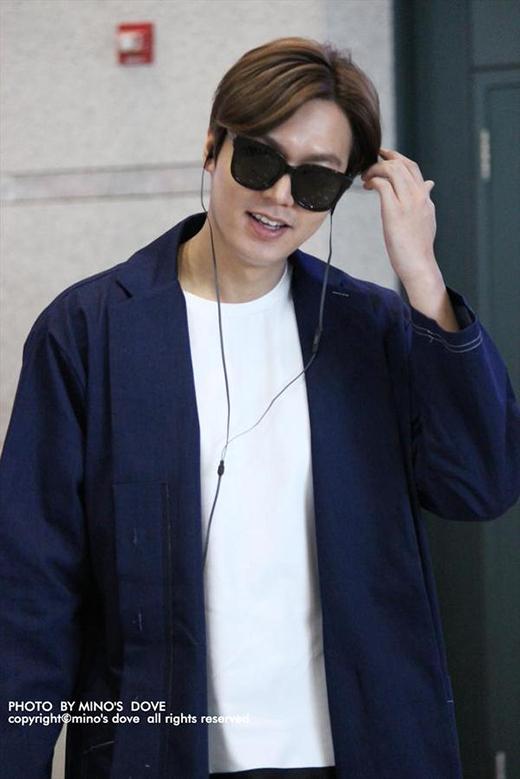 Nụ cười hạnh phúc của Lee Min Ho khi các fan gọi tên Suzy