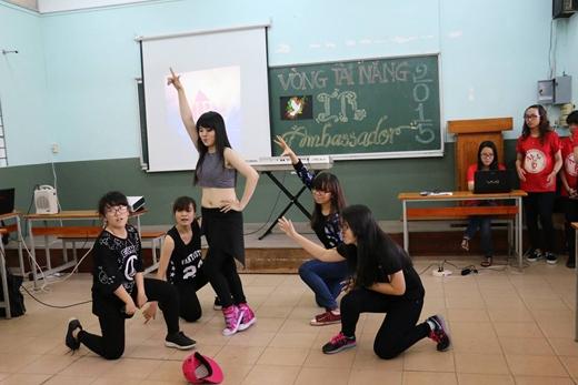 Nhảy Hiphop của thí sinh Hoàng Ngọc Thuý