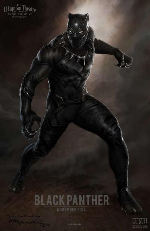 Nhân vật Black Panther cũng sẽ xuất hiện lần đầu tiên trong tập này