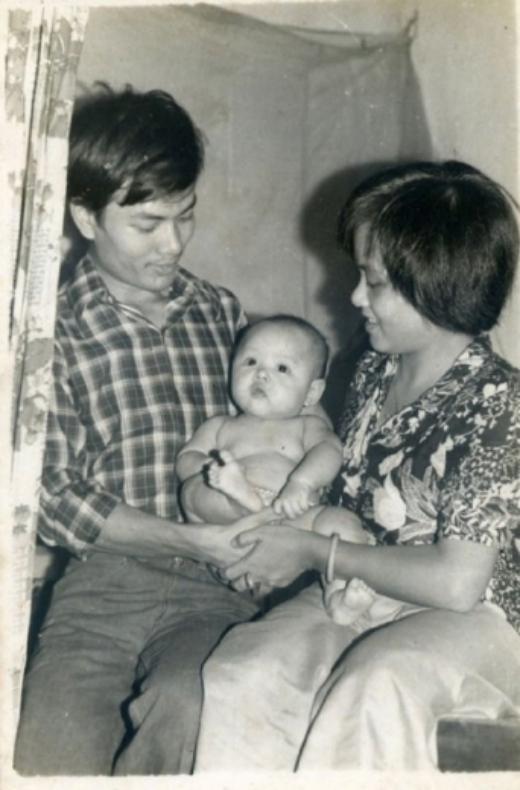 BTV Hoài Anh trong vòng tay ba mẹ - Tin sao Viet - Tin tuc sao Viet - Scandal sao Viet - Tin tuc cua Sao - Tin cua Sao