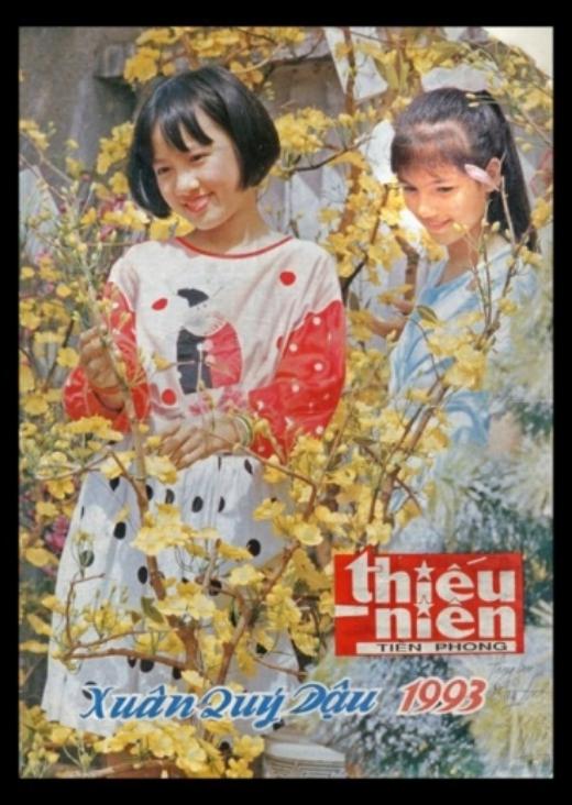 Ngay từ năm 13 tuổi, Hoài Anh đã được lên bìa báo Thiếu Niên Tiền Phong năm 1993. - Tin sao Viet - Tin tuc sao Viet - Scandal sao Viet - Tin tuc cua Sao - Tin cua Sao