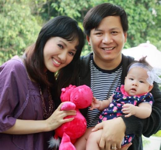 Gia đình nhỏ của BTV Hoài Anh - Tin sao Viet - Tin tuc sao Viet - Scandal sao Viet - Tin tuc cua Sao - Tin cua Sao