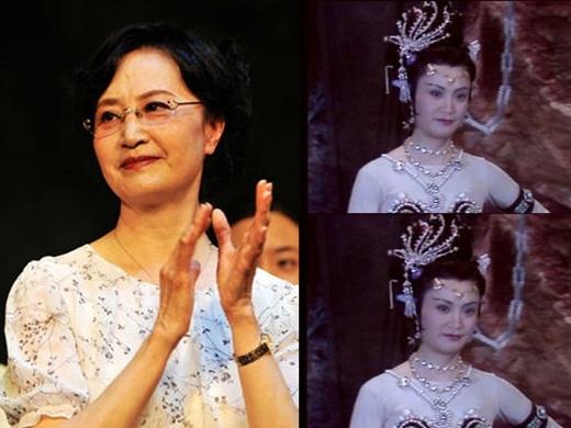 Bạch Cốt Tinh - Dương Xuân Hà xuất thân là diễn viên Côn kịch nổi tiếng. Năm nay, Dương Xuân Hà đã ở tuổi ngoài 70 có nét phúc hậu khác hẳn nhân vật trong Tây Du Ký.