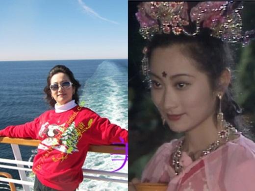 Hạnh Tiên xinh đẹp do Vương Linh Hoa đóng, ngày ấy trẻ trung và giờ đã là bà ngoại.