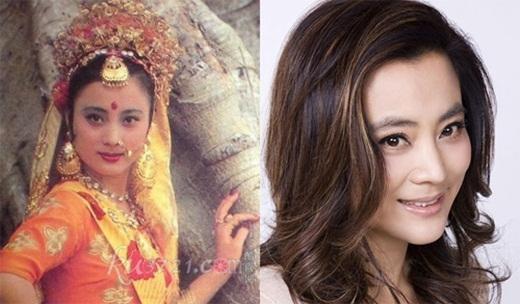 Lý Linh Ngọc đóng vai Ngọc thố tinh, năm nay ngoài 50 tuổi nhưng vẫn còn vẻ đẹp tươi trẻ.