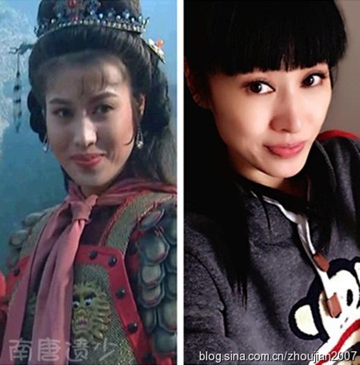 Hồ Tam Nương do Trịnh Sảng đóng: Vẻ đẹp không cổ trang của cô còn đẹp hơn.