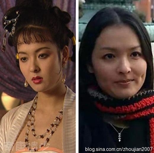 Diêu Bà Tích do Mộ Thanh đóng: Thời gian này cô tăng cân so với hình ảnh hơn 20 năm trước.