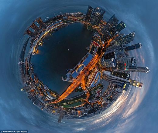 Toàn cảnh 360 độ đầy ngoạn mục của các thành phố lớn