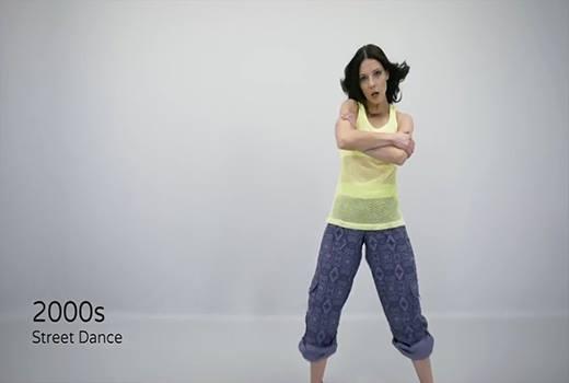 Rồi dần mạnh mẽ với các điệu nhảy