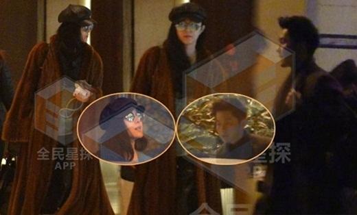 Phạm Băng Băng không ngại khi bị chụp ảnh vào khách sạn với Lý Thần