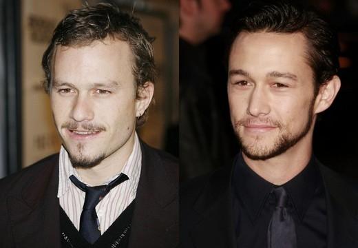 Heath Ledger và Joseph Gordon-Levitt nhìn giống nhau đến nỗi có lẽ hai người bằng cách nào đó là họ hàng xa với nhau. Nếu Heath còn sống và đi dạo ngoài phố chắc hẳn người đi đường và cánh paparazzi sẽ nghĩ đó là Joseph và ngược lại.