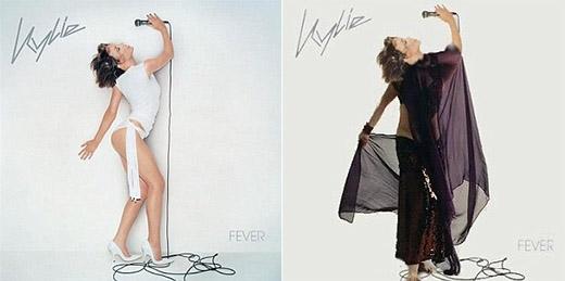 Ảnh bìa album của Kylie không thể nào nóng hơn nữa khi cô được thiết kế hẳn một bộ trang phục mới đặc biệt.