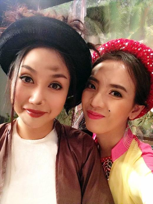 Thu Trang và Ốc Thanh Vân - Tin sao Viet - Tin tuc sao Viet - Scandal sao Viet - Tin tuc cua Sao - Tin cua Sao