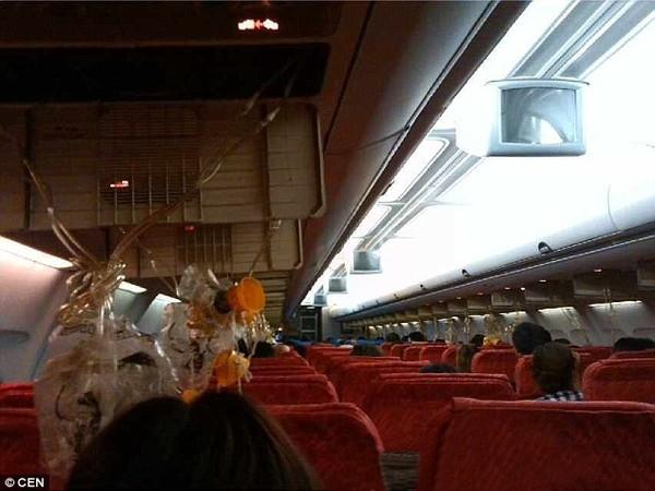 Nhiều hành khách đã nghĩ đến tình huống xấu