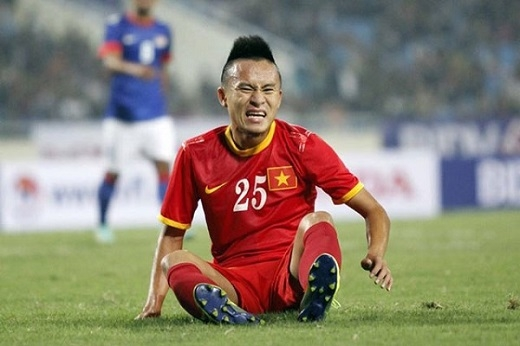 Huy Toàn chính thức chia tay vòng loại U23 Châu Á