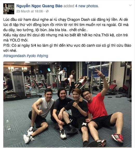 Sao Việt rần rần rủ rê bạn bè cùng tham gia Dragon Dash - Tin sao Viet - Tin tuc sao Viet - Scandal sao Viet - Tin tuc cua Sao - Tin cua Sao