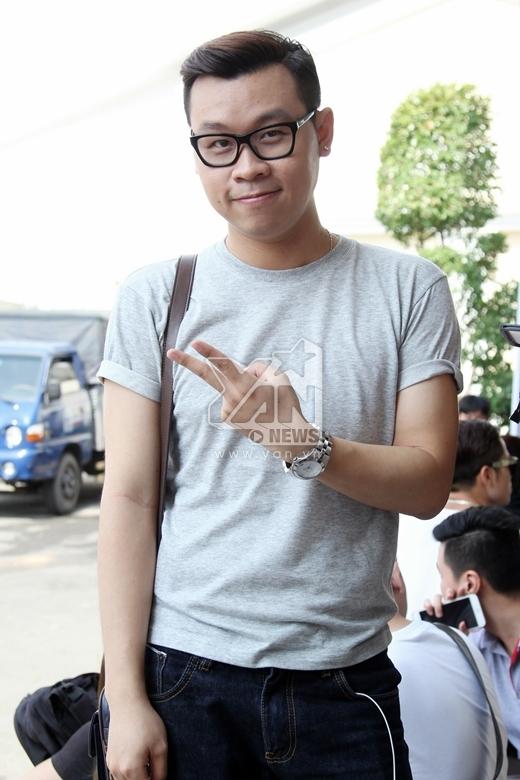 Minh Trí - một gương mặt quen thuộc của nhóm bè Cadilac và cũng từng tham gia cuộc thi Giọng hát Việt 2013 trong team của giám khảo Quốc Trung - Tin sao Viet - Tin tuc sao Viet - Scandal sao Viet - Tin tuc cua Sao - Tin cua Sao
