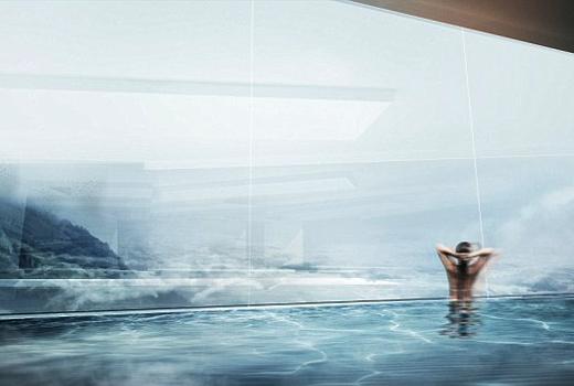 Choáng ngợp trước vẻ đẹp của khách sạn cao nhất thế giới
