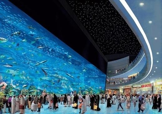 Đến cả trung tâm thương mại lớn nhất thế giới cũng thuộc vềDubai.