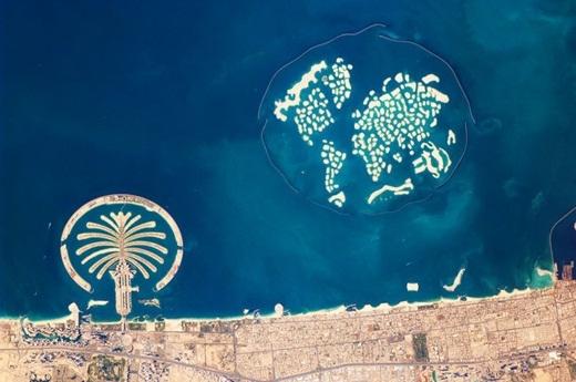 2 quần đảo nhân tạo nổi tiếng thế giới tại Dubai.