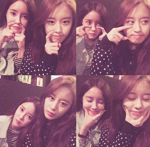 Jiyeon khoe hình nhắng nhít cùng Hyomin