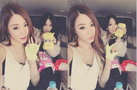 Tiffany chia sẻ, cô thích Kitty trong khi cô bạn thân Taeyeon lại thích Unions