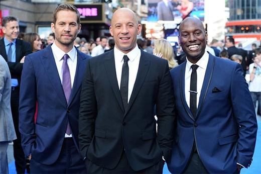 Paul Walker, Vin Diesel, Black Ty lịch lãm ra mắt phần 6.