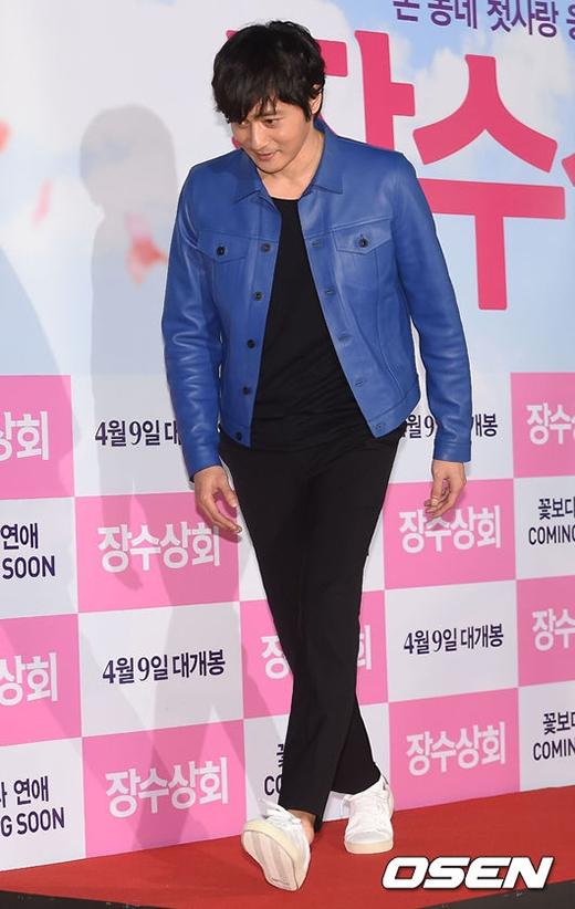 Jang Dong Gun cực phong độ dù đã bước qua buổi 40