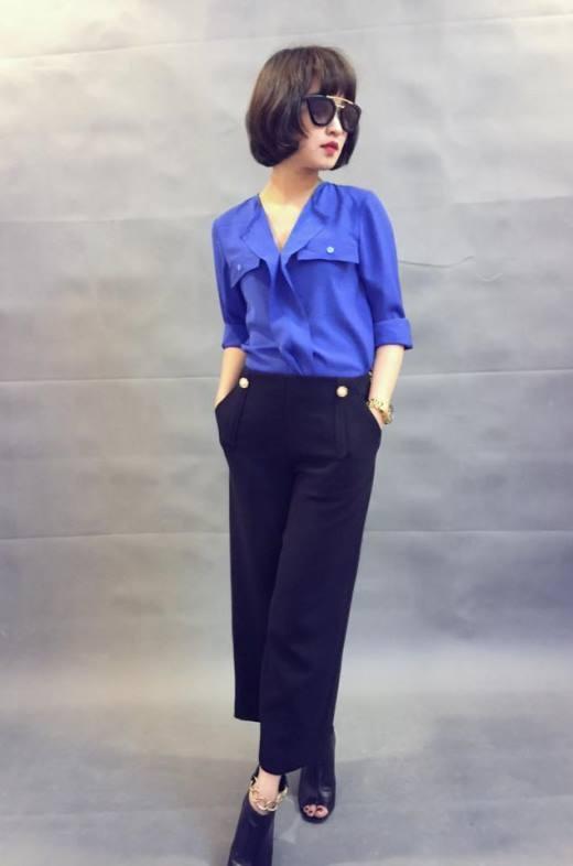Mi Vân có gu thời trang khá đa dạng và bắt mắt. Dù với phong cách thời trang cá tính hay cổ điển cô nàng đều nhận được sự yêu mến của đông đảo người hâm mộ.