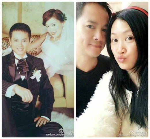 Vợ chồng Lương Tiểu Băng - Trần Gia Huy mặn nồng sau nhiều năm.