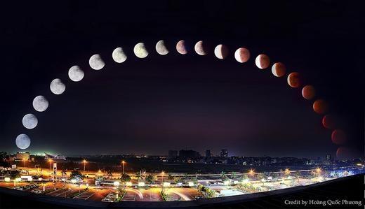 Ngày 4/4, Việt Nam có hiện tượng trăng máu đặc biệt nhất thế kỉ 21