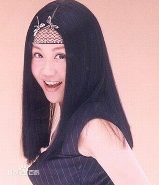 Lam Tâm Mi ngày trẻ với gương mặt cá tính