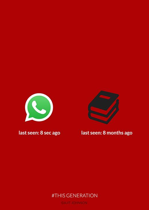 - Lần cuối cùng đọc tin nhắn: 8 phút trước. - Lần cuối cùng đọc sách: 8 tháng trước