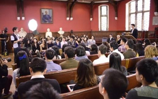 Vương Lực Hoành thuyết giảng tại đại học Oxford