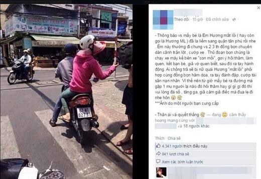 """Bức ảnh dựng chuyện Hương """"mắt lồi"""" tái xuất được lan truyền trên mạng xã hội"""
