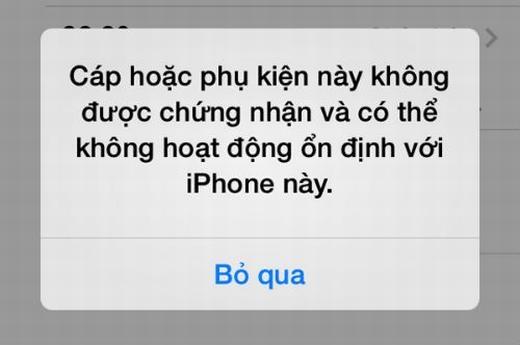 Thủ thuật đơn giản phân biệt phụ kiện iPhone thật – giả