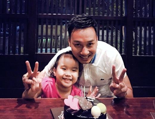 """Cô công chúa nhỏ của Thành Trung có nụ cười """"y tạc"""" anh. - Tin sao Viet - Tin tuc sao Viet - Scandal sao Viet - Tin tuc cua Sao - Tin cua Sao"""