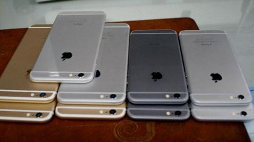 iPhone 6, 6 Plus lock và hàng qua sử dụng chưa được bán phổ biến trên thị trường như hàng mới.