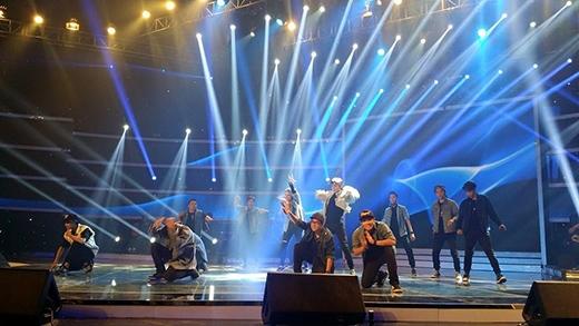 Nhóm Milky Way trở lại với sân khấu Got Talent với tiết mục hip hop sôi động.