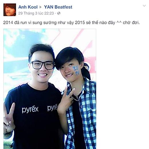 Trong lúc chờ đợi lễ hội âm nhạc Yan Beatfest 2015 chính thức được diễn ra, nhiều bạn đã cùng nhau nhìn lại Yan Beatfest 2014.