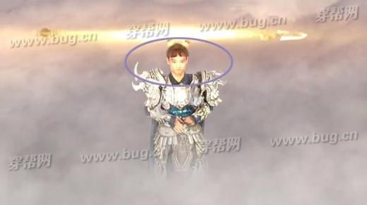 Một phân cảnh diễn viên đóng thế xuất hiện trên màn ảnh khi gương mặt của vị thần tiên này thay đổi trong chốc lát.