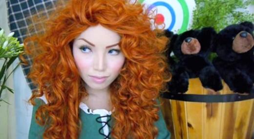 Công chúa tóc đỏ Merida dũng cảm