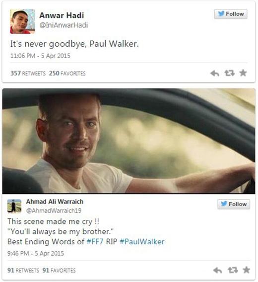 Fan thi nhau chia sẻ lại đoạn clip 'ám ảnh' về Paul.